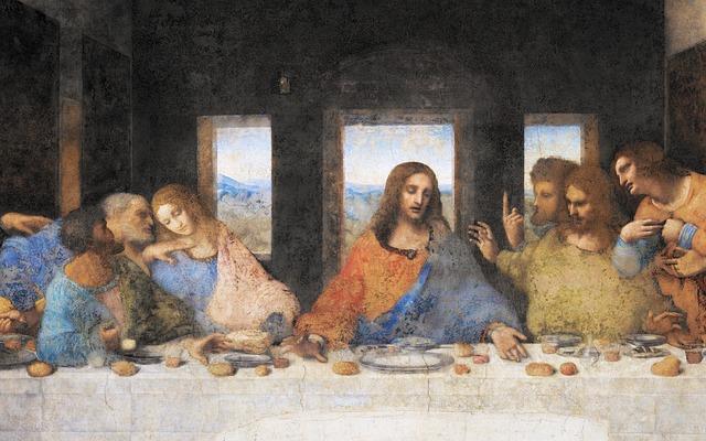 Última cena con pan