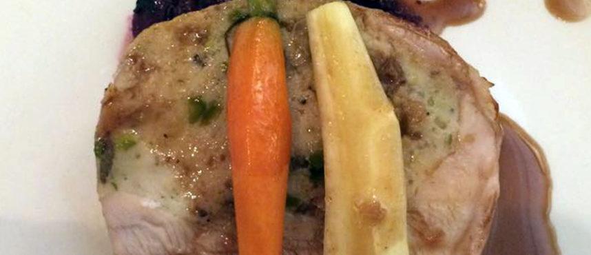 Iván Sáez del restaurante Desencaja nos acerca al Día de Acción de Gracias con su receta especial de pavo