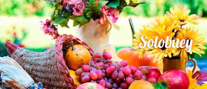 'Septiembre es frutero, alegre y festero'…