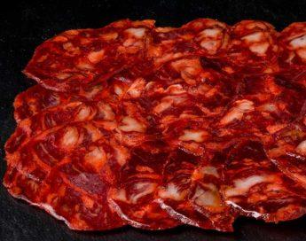 Chorizo ibérico extra cortado