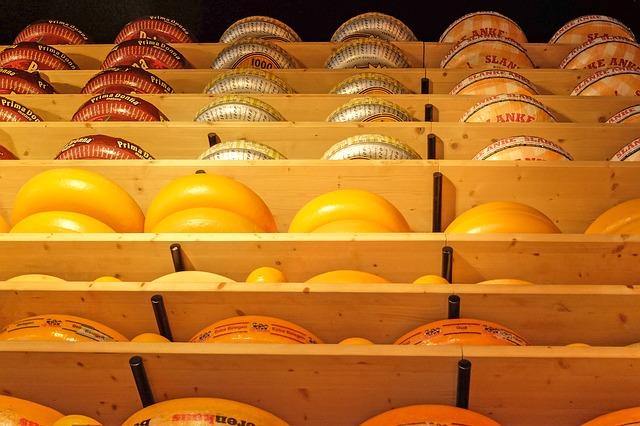quesos con corteza de cera