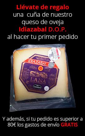 Cuña de queso Idiazabal