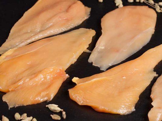 Filetes de Pechuga de Pollo de Corral