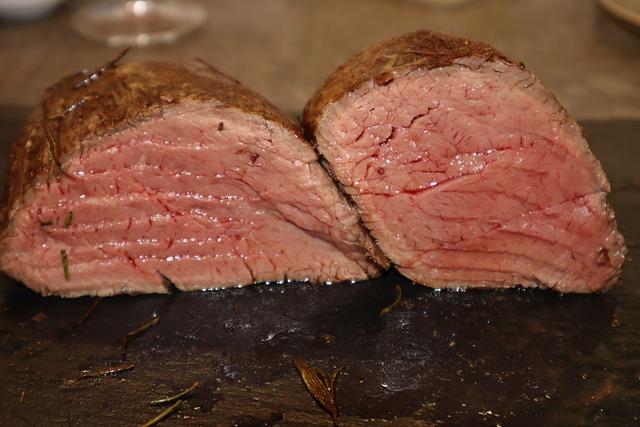 Corte las mejores carnes para roast beef