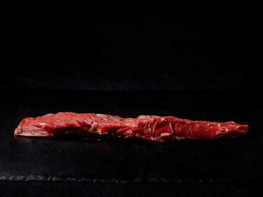 Lomo de jabalí carne roja