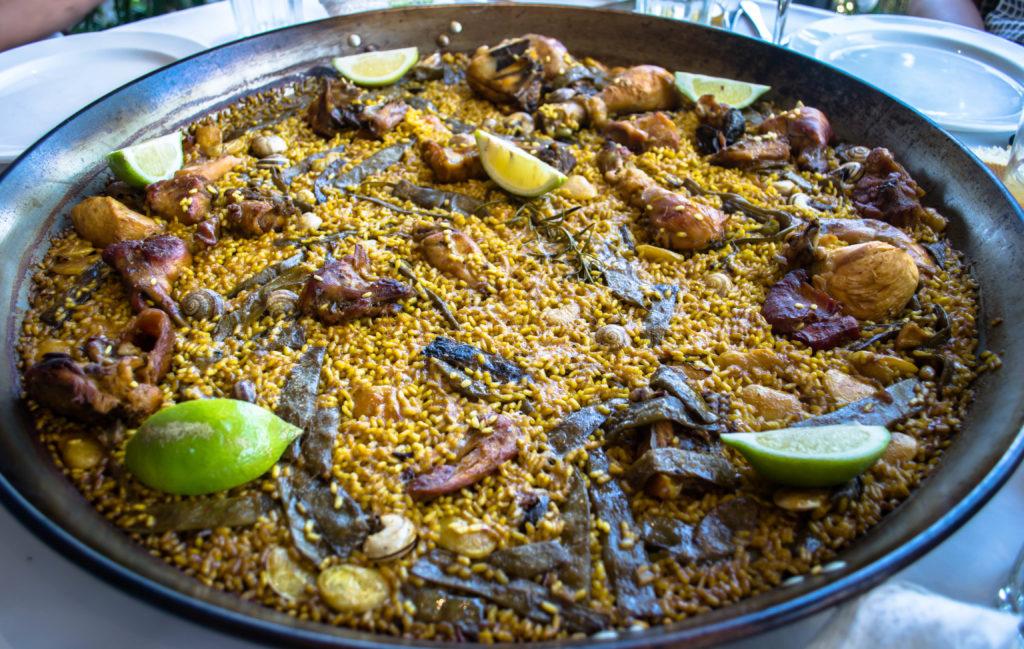 Paella valenciana Mejores platos de España