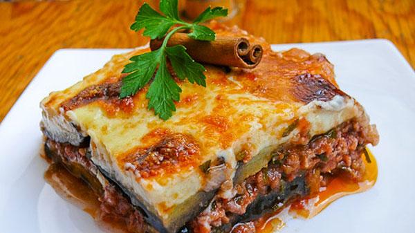 es un plato típico griego