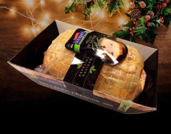 Pollo de Navidad relleno