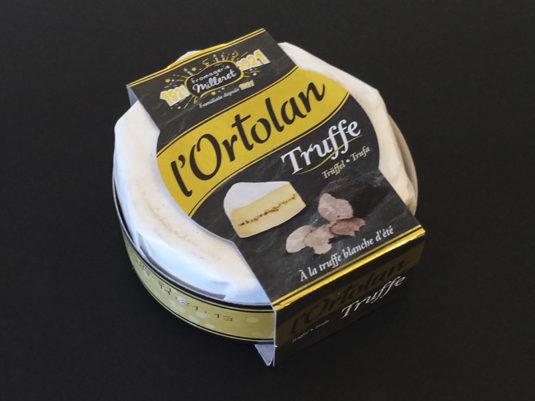 Queso trufado Ortolan