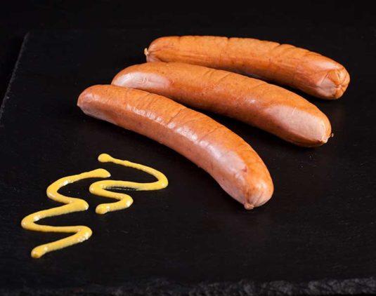 Salchicha Alemana Bockwurst